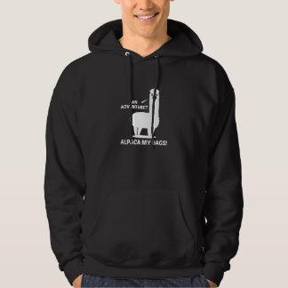 Alpaca My Bags Hooded Pullovers