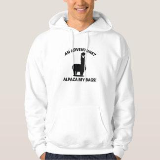 Alpaca My Bags Hooded Sweatshirts