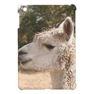 Alpaca on farm cover for the iPad mini