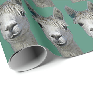 Alpaca Paper Gift Wrap