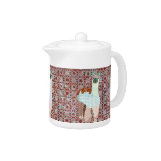 Alpaca Pink  Teapot