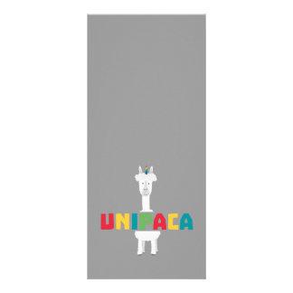 Alpaca Rainbow Unicorn Z0ghq 10 Cm X 23 Cm Rack Card