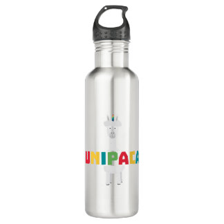 Alpaca Rainbow Unicorn Z0ghq 710 Ml Water Bottle