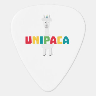 Alpaca Rainbow Unicorn Z0ghq Guitar Pick