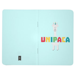 Alpaca Rainbow Unicorn Z0ghq Journal
