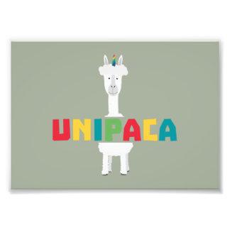 Alpaca Rainbow Unicorn Z0ghq Photo Print