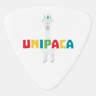 Alpaca Rainbow Unicorn Z0ghq Plectrum