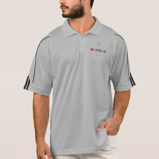 Alpaca Rainbow Unicorn Z0ghq Polo Shirt
