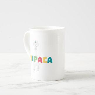 Alpaca Rainbow Unicorn Z0ghq Tea Cup
