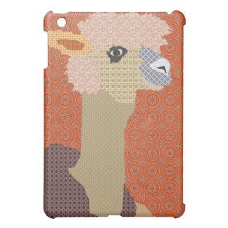 Alpaca Retro Orange iPad Mini Cover