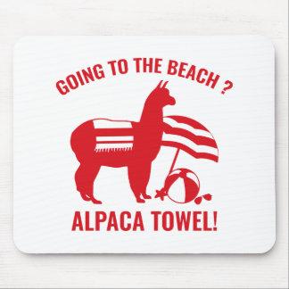 Alpaca Towel Mouse Pad