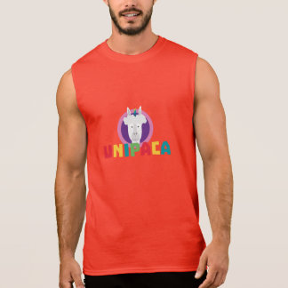 Alpaca Unicorn Unipaca Z4srx Sleeveless Shirt