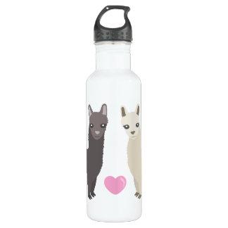 Alpacas and Heart 710 Ml Water Bottle