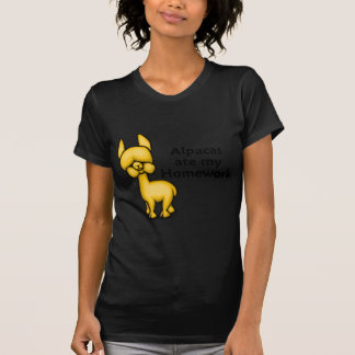 Alpacas ate my Homework Tshirts