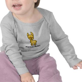 Alpacas Rule T-shirts