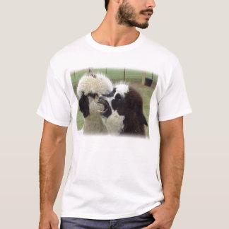alpacas yawning T-Shirt
