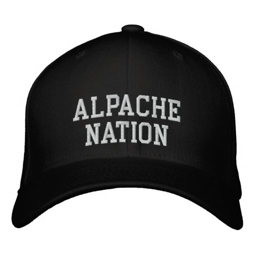 Alpache Nation Embroidered Hats