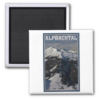 Alpbach Ski Area Magnet