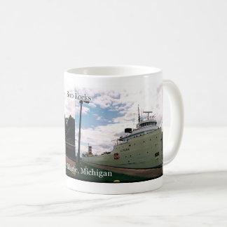 Alpena in the Soo Locks mug