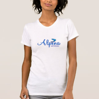Alpena, Michigan - Ladies Twofer Sheer (Fitted) Shirts