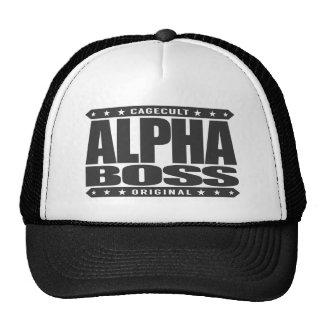 ALPHA BOSS - Persistence Leads to Success, Black Cap