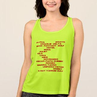 Alpha Bravo code talk women spy shirt