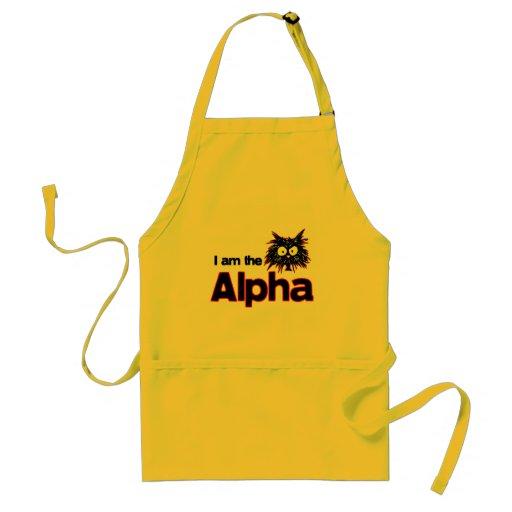 Alpha Cat Aprons