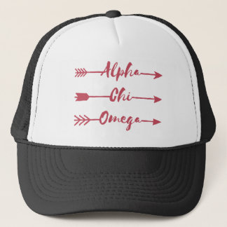 Alpha Chi Omega | Arrows Trucker Hat