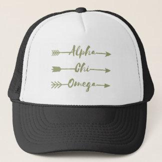 Alpha Chi Omega | Arrows Trucker Hat