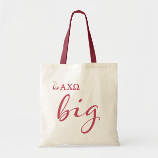Alpha Chi Omega | Big Script Tote Bag