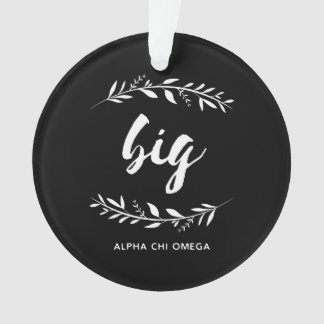 Alpha Chi Omega | Big Wreath Ornament