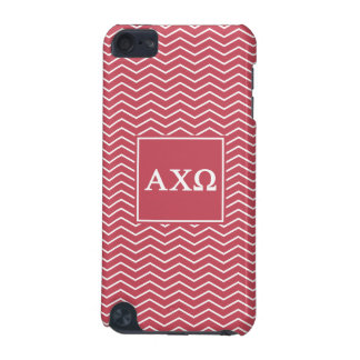 Alpha Chi Omega   Chevron Pattern iPod Touch 5G Cases