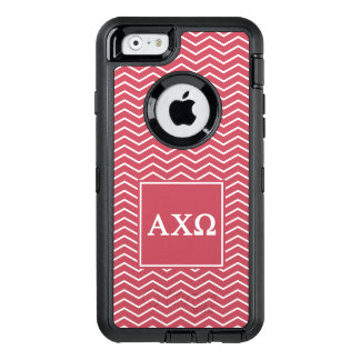 Alpha Chi Omega | Chevron Pattern OtterBox Defender iPhone Case