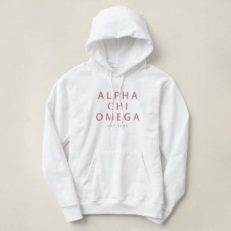 Alpha Chi Omega | Est. 1885 Hoodie