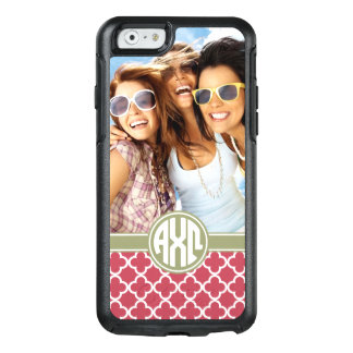 Alpha Chi Omega | Monogram and Photo OtterBox iPhone 6/6s Case