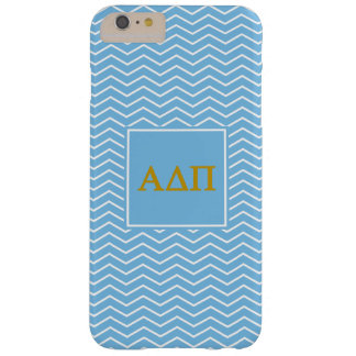 Alpha Delta Pi | Chevron Pattern Barely There iPhone 6 Plus Case