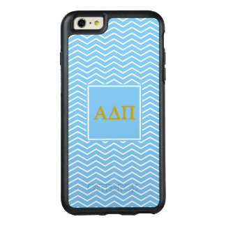 Alpha Delta Pi | Chevron Pattern OtterBox iPhone 6/6s Plus Case