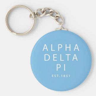 Alpha Delta Pi | Est. 1851 Key Ring