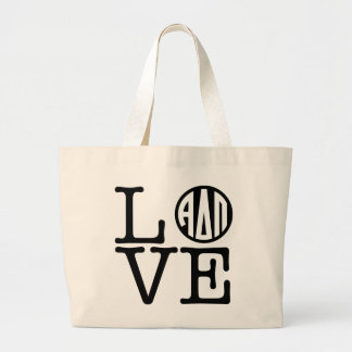 Alpha Delta Pi | Love Large Tote Bag