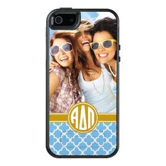 Alpha Delta Pi | Monogram and Photo OtterBox iPhone 5/5s/SE Case