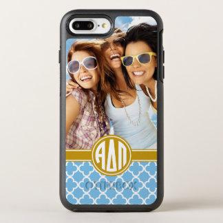 Alpha Delta Pi | Monogram and Photo OtterBox Symmetry iPhone 8 Plus/7 Plus Case