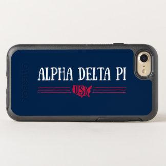 Alpha Delta Pi - USA OtterBox Symmetry iPhone 8/7 Case