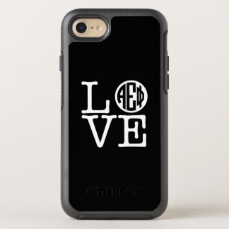 Alpha Epsilon Phi | Love OtterBox Symmetry iPhone 8/7 Case