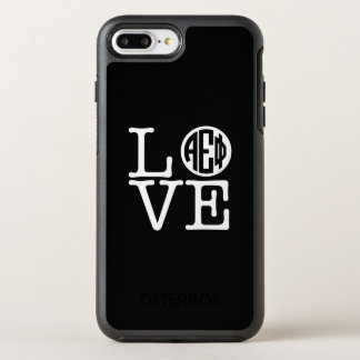 Alpha Epsilon Phi | Love OtterBox Symmetry iPhone 8 Plus/7 Plus Case