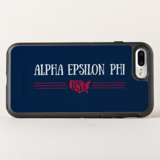 Alpha Epsilon Phi - USA OtterBox Symmetry iPhone 8 Plus/7 Plus Case