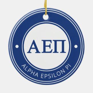 Alpha Epsilon Pi | Badge Ceramic Ornament