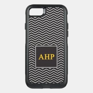 Alpha Eta Rho | Chevron Pattern OtterBox Commuter iPhone 8/7 Case