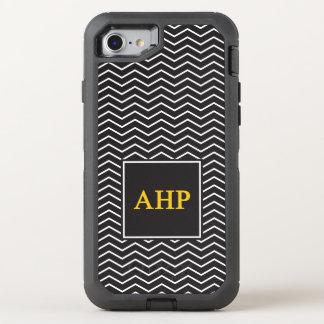 Alpha Eta Rho   Chevron Pattern OtterBox Defender iPhone 7 Case