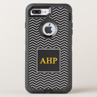 Alpha Eta Rho | Chevron Pattern OtterBox Defender iPhone 8 Plus/7 Plus Case