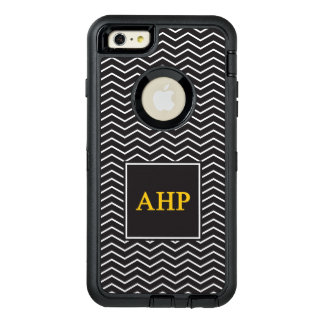 Alpha Eta Rho | Chevron Pattern OtterBox Defender iPhone Case